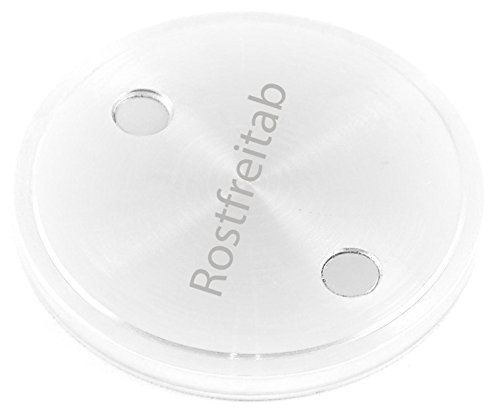 Melderfix Neu Rostfreitab gegen Flugrost in der Spülmaschine | für strahlendes Besteck und Töpfe | 1er Set Rostfreitab Spülmaschinen Tab für ca. 850 Spülvorgänge UVP. 19.95