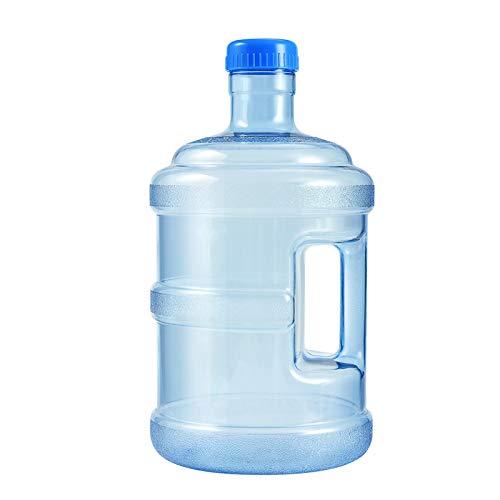 Botella Agua, Jarra PC 5L con Asa, Cubo Agua Grande para Gimnasio,...