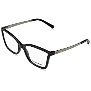 Michael Kors CARACAS MK4058 Eyeglass Frames 3332-54 – Black Injected MK4058-3332-54
