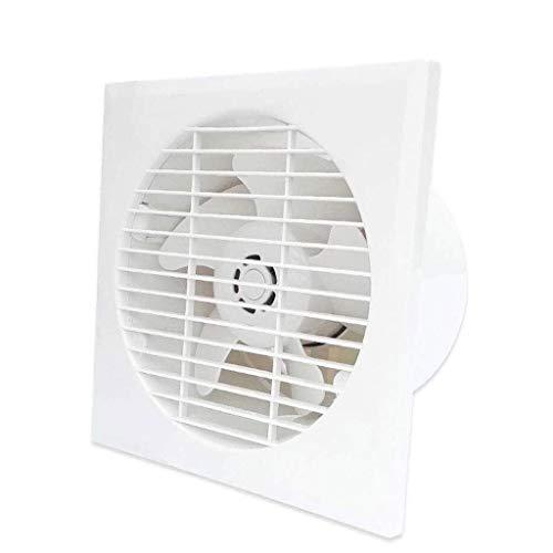 WYBFZTT-188 Extractor - 6 Pulgadas Ventilador de ventilación de Escape Pequeño baño Ventilador Ventana de Cristal domésticos de Pared Interior