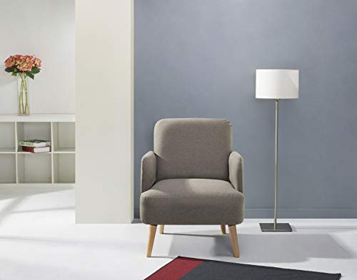 Leader Lifestyle Sessel, braun, 62x 77x 79cm