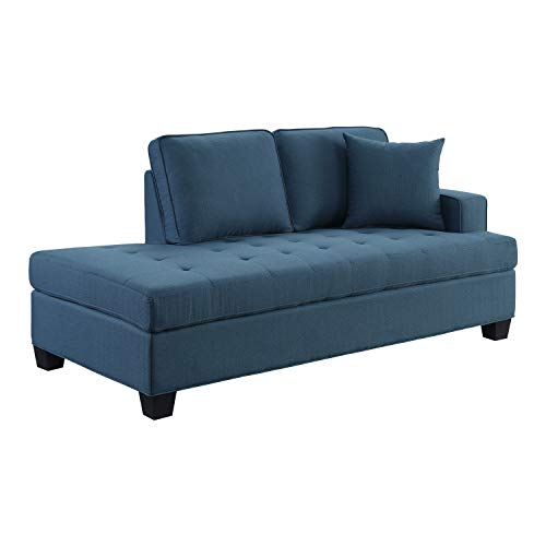 Lexicon Ashland Chaise Lounge, Blue