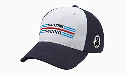 PORSCHE Hippie Martini Racing - Gorra de béisbol unisex, color azul, blanco y rojo