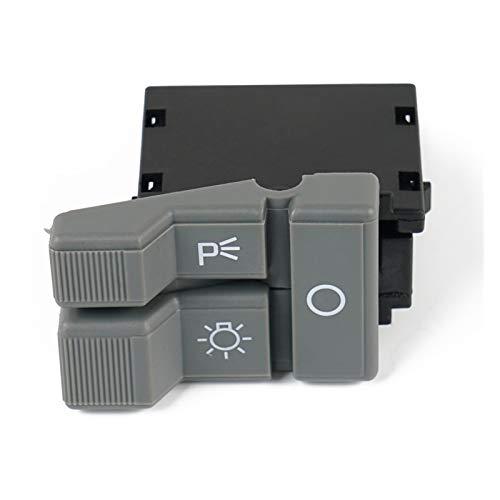 FangFang Lightlight Parking Light Rocker Switch Gris Nuevo Ajuste para Chevy GMC Suburban C1500 C2500 C3500 K1500 K3500 Pickup Truck 1992-1994 (Color : Gray)