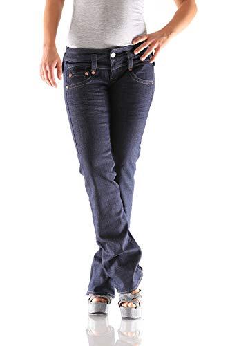 Herrlicher Pitch D9180 026 Straight Damen Jeans Hose, Hosengröße:W27/L34