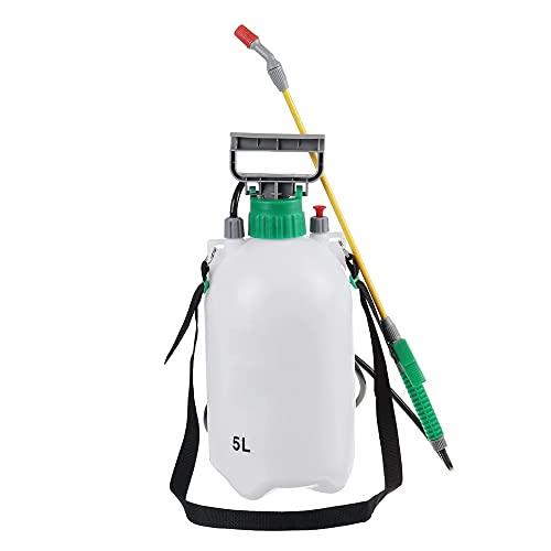 Spruzzatore atomizzatore irroratore 5 litri con pompa e augello regolabile concime giardinaggio
