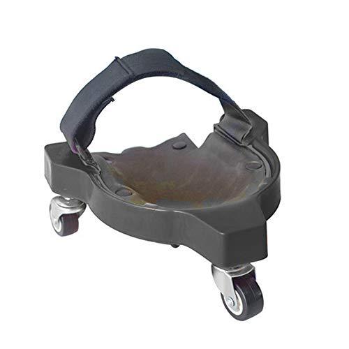 DIYARTS Multifunktionale Knieschoner für Knieschoner mit integriertem gepolstertem Schaumstoff für Training Workout Bauarbeit Knieschoner (Schwarz)