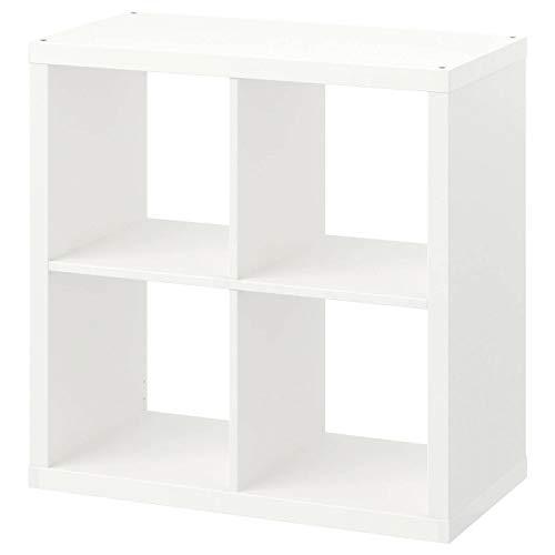 Ikea Kallax Regal, Bücherregal, Wandregal, Raumteiler in weiß (77 x 77 cm)
