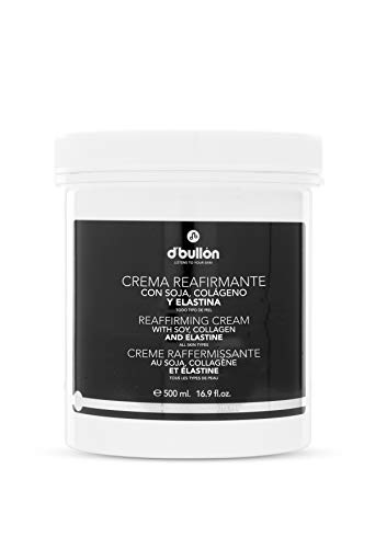 D'Bullón Crema corporal Reafirmante de Senos con Soja, Colágeno y Elastina, 500 ml