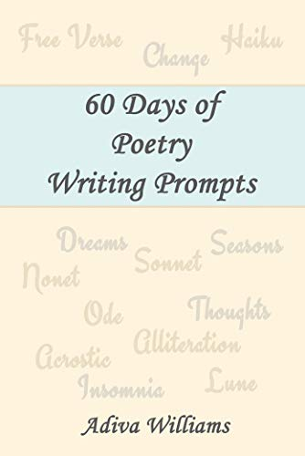60 Days of Poetry Writing Prompts (English Edition)
