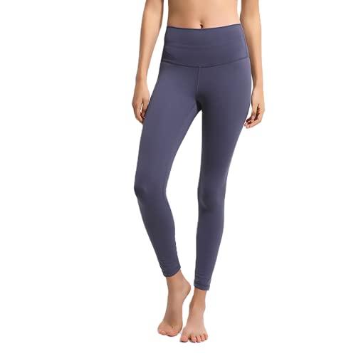 QTJY Pantalones de Yoga Ajustados con Cintura Alta para Mujer, Pantalones Sexis y Suaves para Correr, Pantalones de Entrenamiento para Celulitis, Push-ups, D S