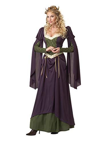 California Costume - CS929618/S - Costume princesse médievale taille s