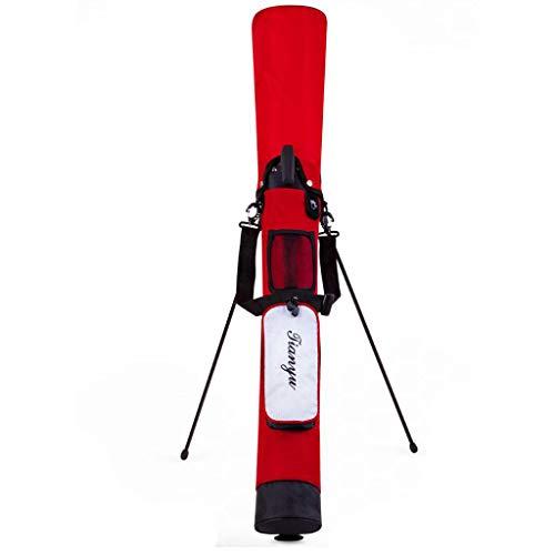 yotijar Wasserfeste Golftasche, Mit Halter Und Griff, Organizer Mit - rot