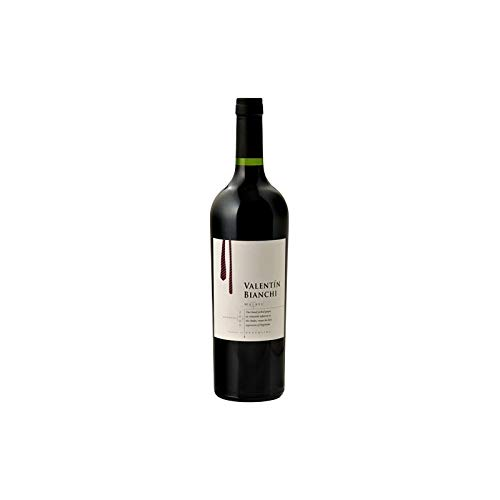 Valentin Bianchi - Vino Tinto Malbec - Bodegas Bianchi- Vinos de Familia Desde 1928- Producto Argentino Por Excelencia- 75 Cl