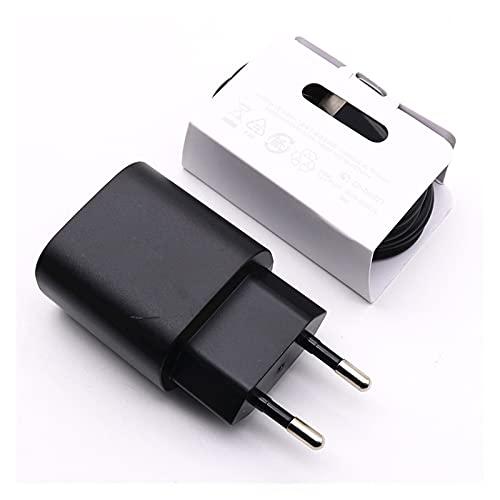 XBHD Pxbhd Originalmente Adecuado para S-AMSUNG G-Alaxy Note 10 25W Adaptador de Carga Ultra rápida PD Cargador 100CM C a c Cable Adecuado para S20 Ultra S20 + A71 A91 Cargador rápido