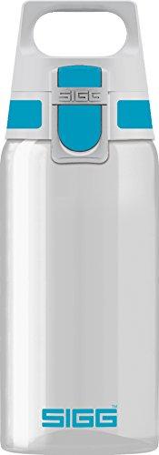 Sigg Total Clear ONE Aqua, Sport Trinkflasche, Tritan, BPA frei, Türkis, 0.5 L