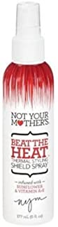 Not Your Mothers Beat The Heat Shield Spray 6 Ounce Pump (177ml) (2 Pack)