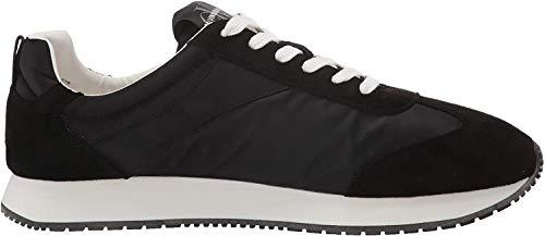 Calvin Klein Jerrold Black S0615 Zapatillas para Hombre, 45