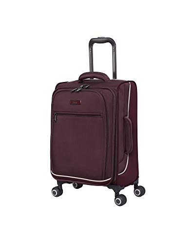 it luggage Encircle Softside Expandable Spinner, Deep Red, Carry-On 21-Inch
