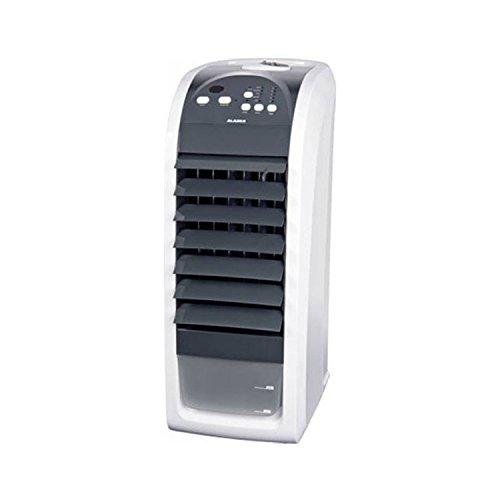 ALASKA Ventilator AIC 900 | Luftkühler | 70 Watt | 3 Ventilationsstufen | Fernbedienung | Zeitschaltuhr | Luftbefeuchtung | LED Betriebskontrollleuchte | 75 Grad Oszillatoren zuschaltbar