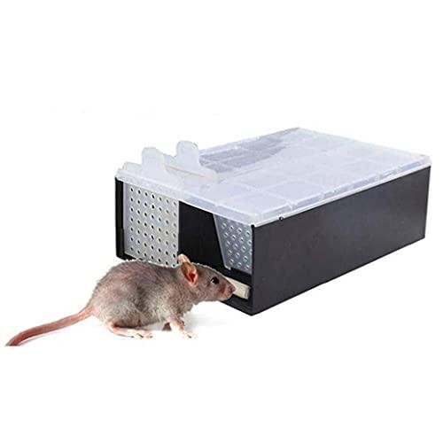 Continuo Trappola per Topi Roditori Catcher Completamente Automatica della Clip del Mouse Catcher Killer Topi Roditori Gabbia