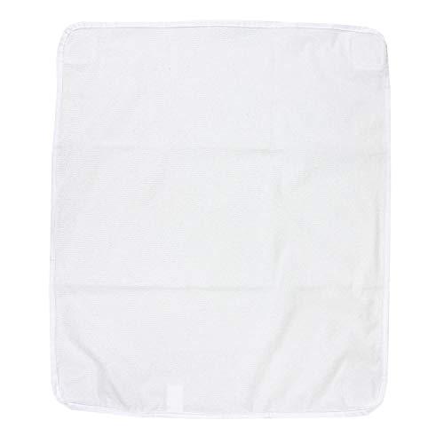 TupTam Ersatztuch für Wickelauflage ANK019, Farbe: Weiß, Größe: 50x58cm