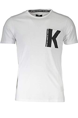 KARL LAGERFELD BEACHWEAR KL19MTS01 T-Shirt mit kurtzen Ärmeln Harren XL