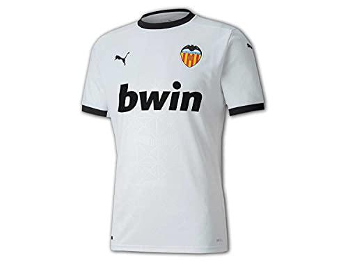 Puma VCF Home Shirt Replica Camiseta, Hombre, White Black, XL