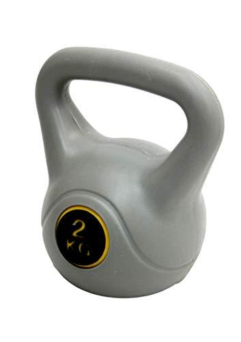 MaxxToys Kettlebell - Fitness Kugelhantel - Kunststoff - Blau - 2 kg