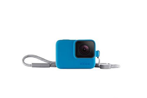 GoPro Hülle + Trageband (offizielles GoPro-Zubehör) Blau