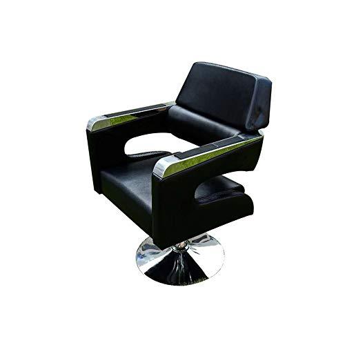 Wuyuliang-いす 油圧理髪店の椅子PUレザー理髪店の椅子ヘアーサロン理髪店の椅子を下げたり、持ち上げたりすることができます散髪椅子 いす-3.26