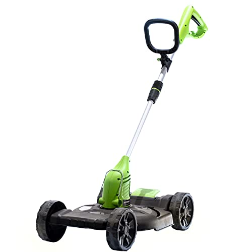 Earthwise STM5512 5.5-Amp 12-Inch Corded Electric String Trimmer/Mower, Black