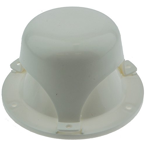 NUSET RV032-33 White RV Roof Vent Caps - RV Roof Vent Cover