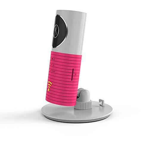 Babyphone, WiFi Kamera HD Audio Mit Kamera Indoor Security Monitoring System Nachtsicht 360 Grad Gesteuert Von Iph0ne Und Android,Pink