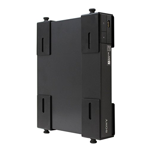 HumanCentric Adjustable Device Wall Mount | DVD Players, Cable Boxes, Receivers, Set Top Box and Other A/V Equipment | Patented