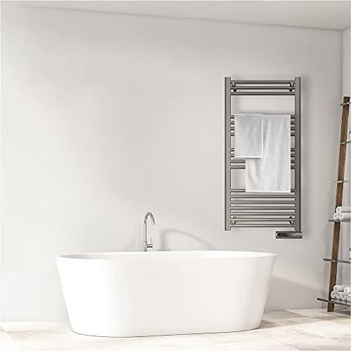 Cecotec Radiador Toallero Eléctrico Bajo Consumo ReadyWarm 9200 Smart Towel Steel...