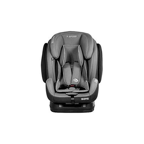 Innovaciones Ms 856 - Silla de coche Encore grupo 1/2/3 de 9 a 36 kilos, Negro (Black/Dark Grey)
