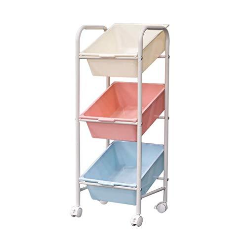 DSENIW Qidofan Küchenwagen mit 3 Ebenen...