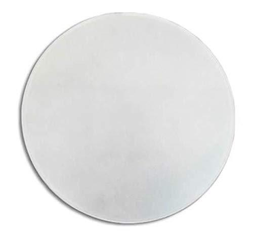 LB 529500 Ersatzglas für Deckenleuchte, rund und gebogen, matt, 20cm