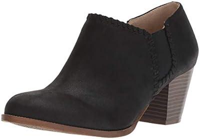 LifeStride Women's Joelle Ankle Boot, Black, 7 M US