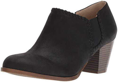 LifeStride Women's Joelle Ankle Boot, Black, 9 W US