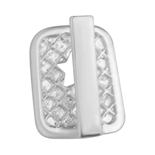 .iced-out. Single Bling Mold Gap Grill - Zahnaufsatz für Zahnlücke