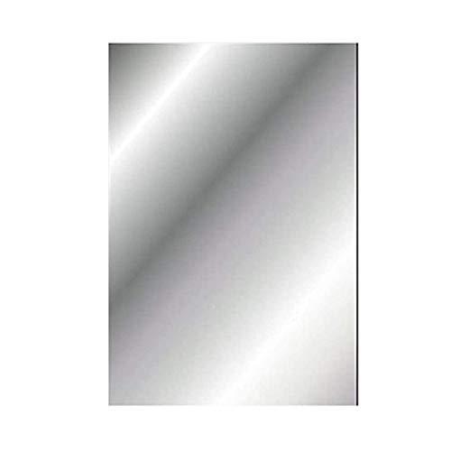 Quanyuchang Flexible Spiegel Blätter Weiche Spiegel Aufkleber Weich Nicht Glas Zuschnitt DIY Handwerk Kunststoff Selbstklebend Badezimmer Wasserdicht Spiegel Fliesen für Zuhause Wohnzimmer