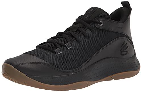 Under Armour Zapatillas de Baloncesto 3z5 para Hombre, Color Negro (003)/Negro, Talla 45,5 EU