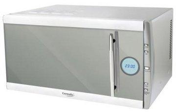 Microonde Digitale con Grill e Aria calda Acciaio inox