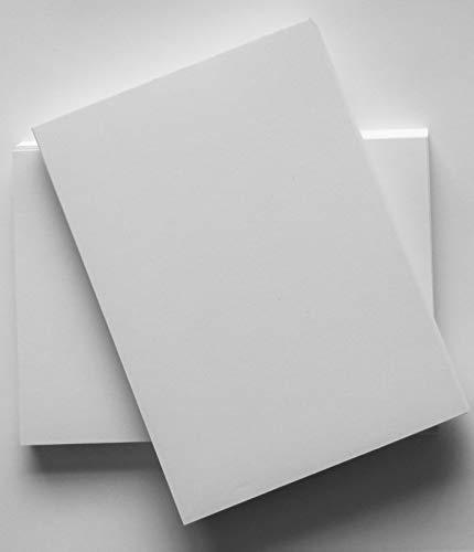 Hochwertiges, schlicht weißes Papier, DIN-A5-Format (148 x 210 mm), für Bürodrucke und Fotokopien, 100 g/m², glatt, 100 Blatt