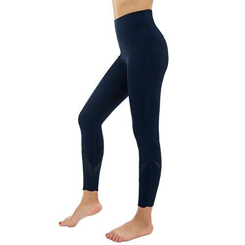 SHEQUDF Marca de Cintura Alta Pantalones de Yoga elástico Mujeres Leggings de...