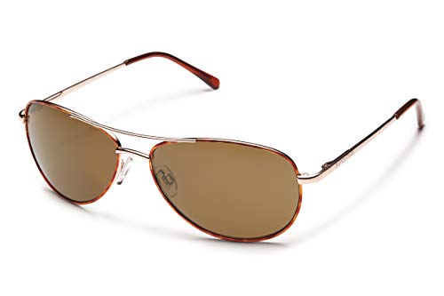 Suncloud womens Patrol Sunglasses, Tortoise/Brown, One Size US