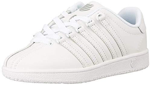 K-Swiss Varsity VN Classic Leder Sneaker 39.5 Weiss