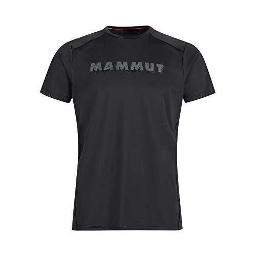 Mammut Herren T-shirt Splide Logo, schwarz, XL